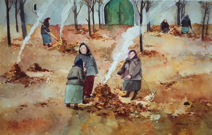 паління восени
