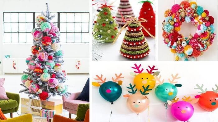 декорування оселі на Різдво саморобними прикрасами