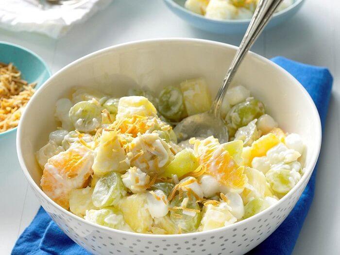 Топ-10 рецептів фруктових салатів