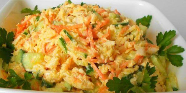 салати з моркви