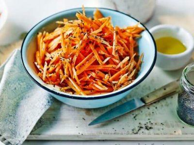 10 вкусных и оригинальных салатов из моркови