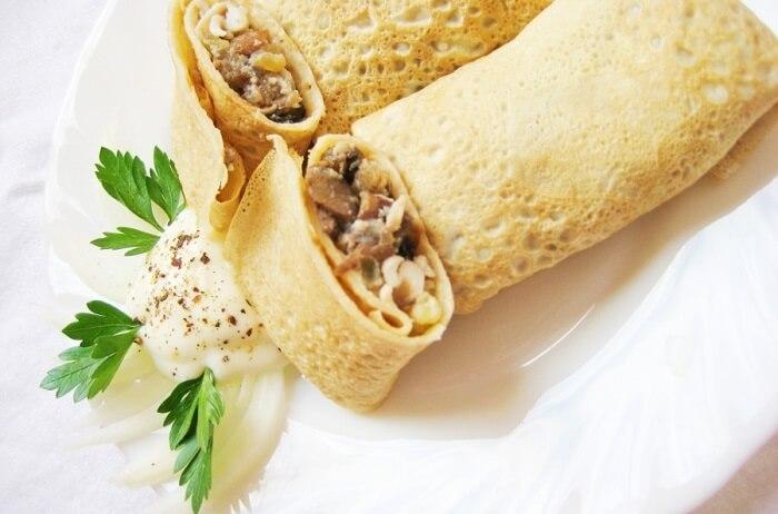 Топ-10 варіантів начинки для млинців