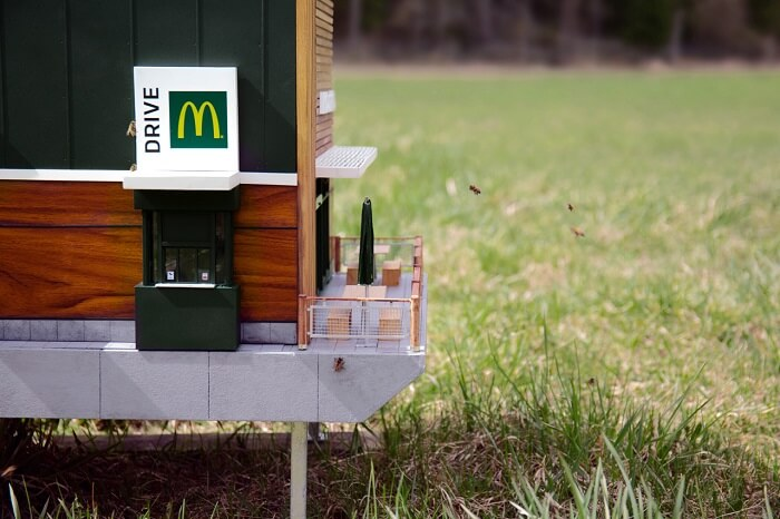 Найменший ресторан McDonald's
