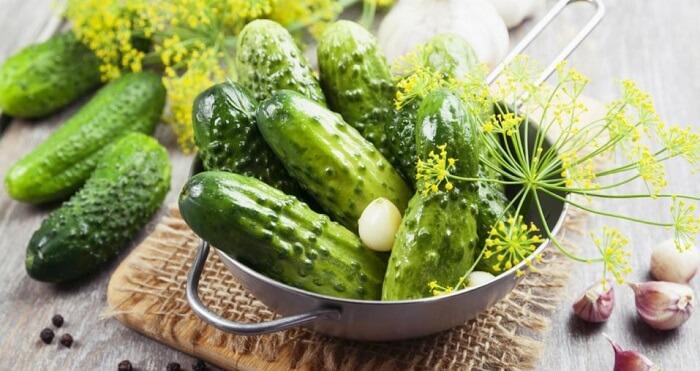 Рецепти приготування малосольних огірків