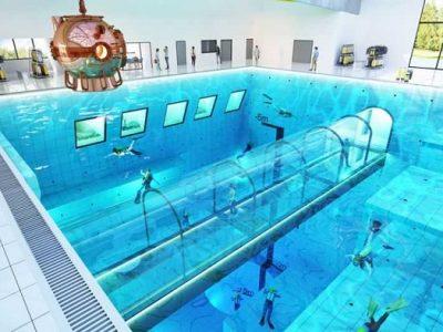 Найглибший у світі басейн відкриють цього року в Польщі
