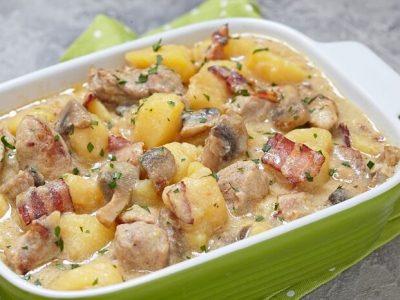 7 смачних способів приготувати картоплю з грибами