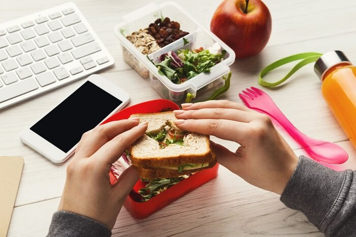 обід в офісі рецепт
