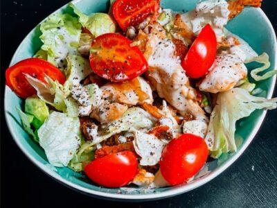 ТОП 5 апетитних салатів з куркою
