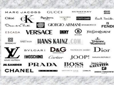 Топ 5 брендів відомих на весь світ
